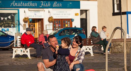 Become an Anstruther Fish Bar VIP.